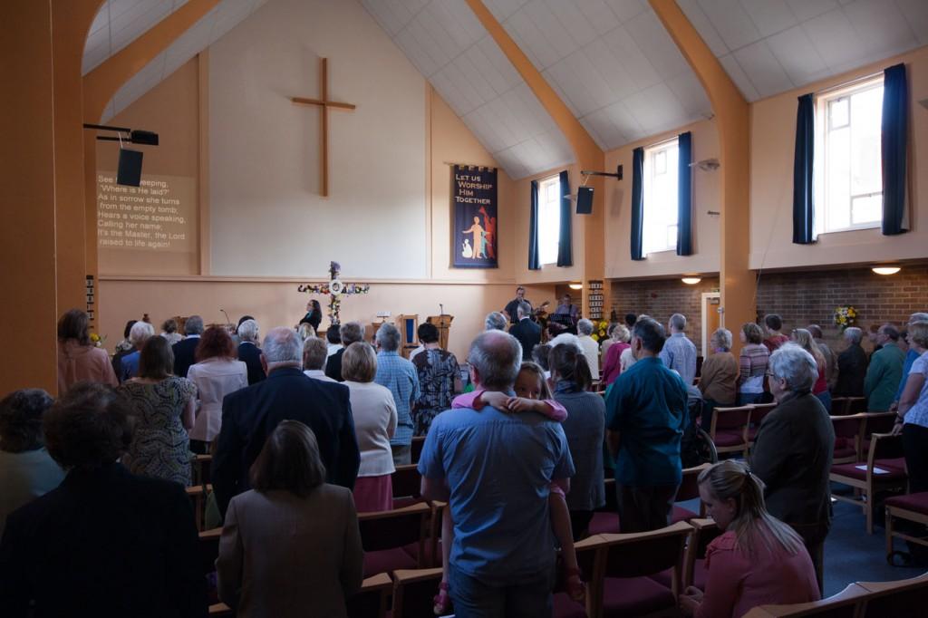 Greasby Methodist Church service