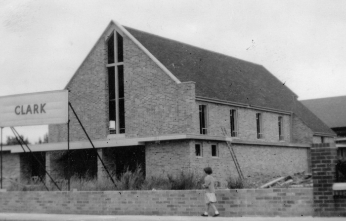 Greasby Methodist Church 1957-1958