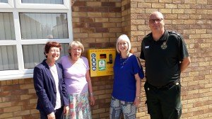 Greasby Methodist Church Defibrillator