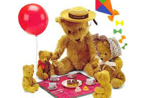 Teddy Bears Picnic at Greasby Methodist Church